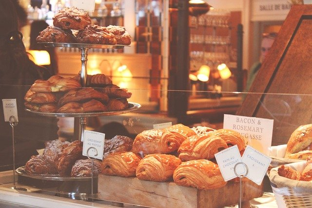 Французские названия кондитерских и пекарен