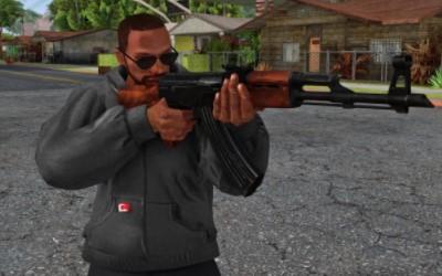 Коды на оружие, розыск, снаряжение в GTA San Andreas